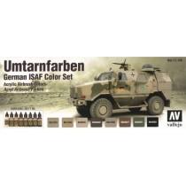 Set de colores para vehículos alemanes ISAF