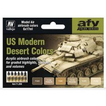 US Modern Desert colors