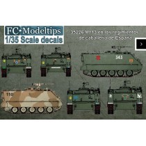 Calcas M113 en los regimientos de caballería de España 1/35
