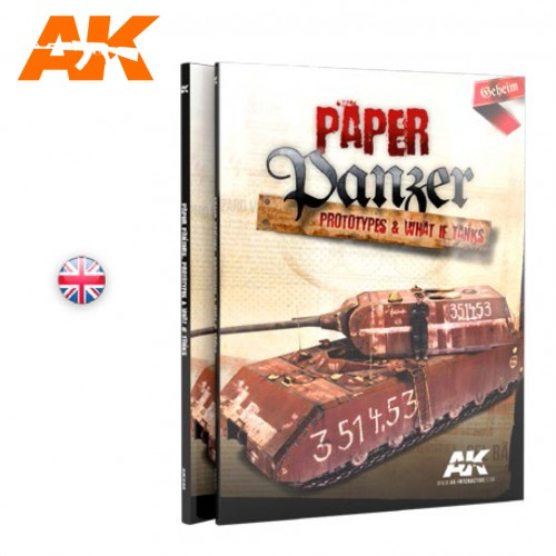 PAPER PANZER, PROTOTYPES & WHAT IF TANKS EN INGLÉS