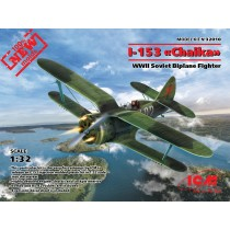 Polikarpov I-153 WWII Soviet Biplane Fighter (100% new moulds) 1/32