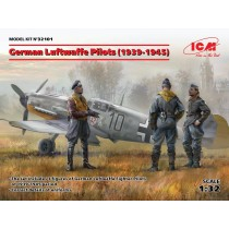 German Luftwaffe Pilots (1939-1945) (100% new molds) 1/32