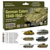 German Colors 1940-1945 8 colores