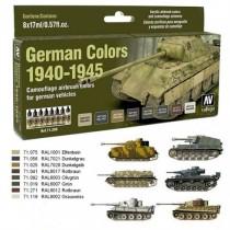 German Colors 1940-1945 8 colores