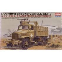 U.S. 2.5ton CARGO TRUCK & ACCESSORIES 1/72