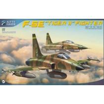 Northrop F-5E Tiger, con 2 figuras en resina- 1/32