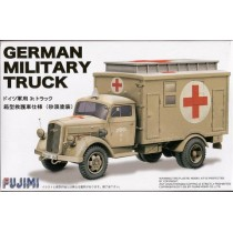 AFV Truck Box Type Rescue Vehicle 1/72