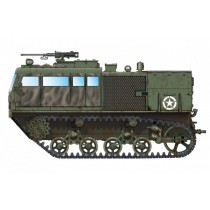 M4 HighSpeed Tractor (3in / 90mm) 1/72