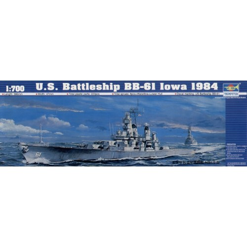 USS Battleship BB-6I Iowa 1984