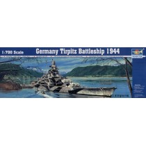Tirpitz German Battleship  1/700