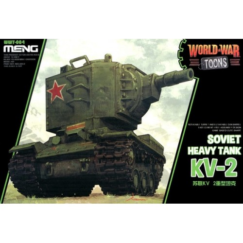 Soviet Heavy Tank KV-2 World War Toon