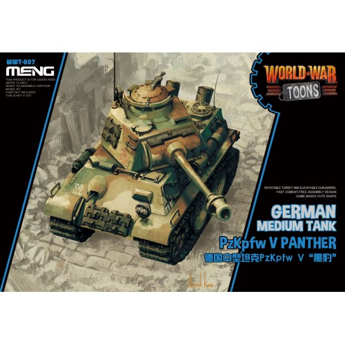 German Pz.Kpfw.V Panther World War Toon