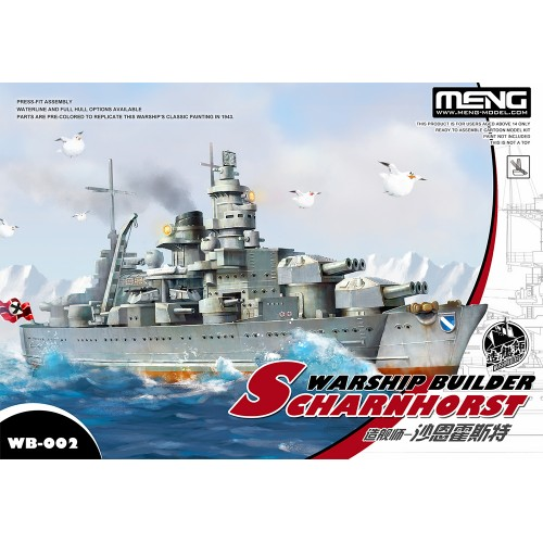 Warship Builder Scharnhorst Cartoon Ship