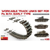 Russian T-34 Wafer-Type Halved Workable Track Links Set 1/35