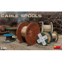 Cable Spools.  1/35