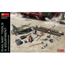 Railway tools and equipment 1/35