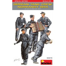 GERMAN TANK CREW (Normandy 1944) (WWII) SPECIAL EDITION 1/35