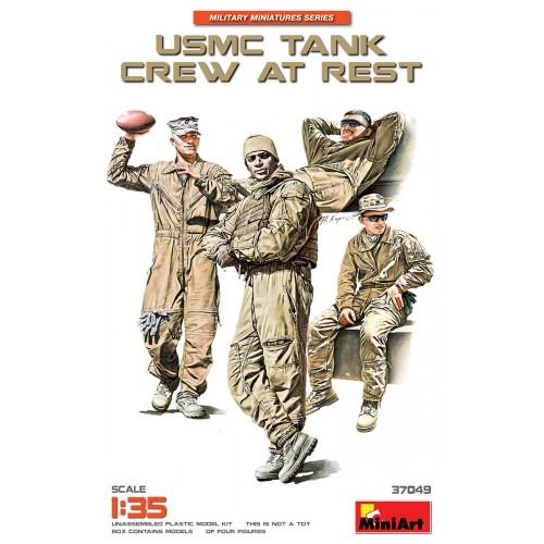 USMC TANK CREW AT REST 1/35