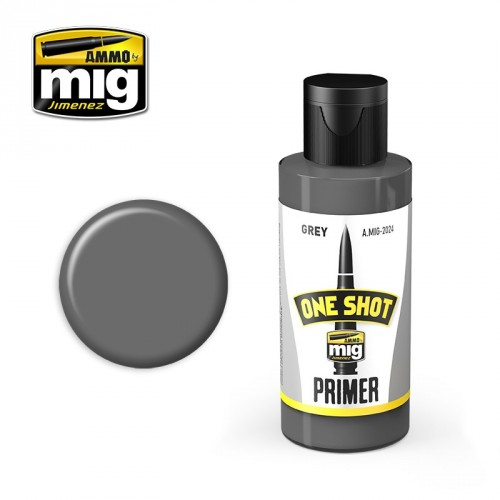 ONE SHOT PRIMER - GREY 60ML.