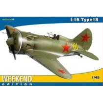 Polikarpov I-16 Type 18 1/48