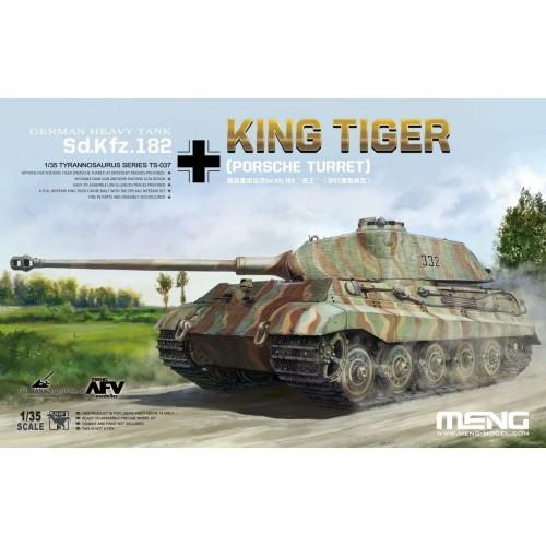 Sd.Kfz.182 King Tiger (Porsche Turret)  1/35