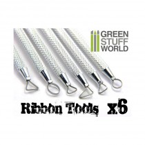 6x Mini Ribbon Sculpting Tool Set