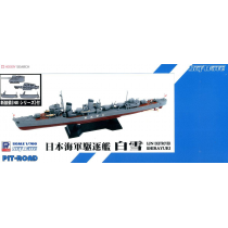 IJN Destroyer SHIRAYUKI Full Hull Version with new equipment parts set