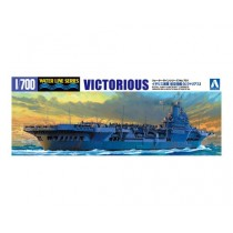 ROYAL NAVY AIRCRAFT CARRIER VICTORIOUS 1/700