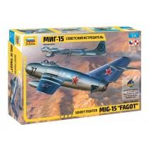 """Soviet fighter Mig-15 """"Fagot""""  1/72"""
