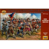 Austrian Musketeers and Pikemen 16-17th Century  1/72