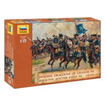 Swedish Infantry 17-18th Century 1/72