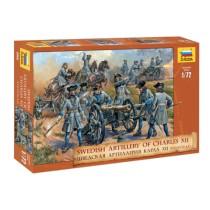 Swedish Artillery Charles XII 1/72