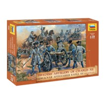 Swedish Artillery Charles XII  1/72