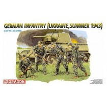 German Infantry (Ukraine, Summer 1943) 1/35