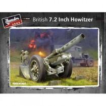 BRITISH 7,2 Inch Howitzer 1/35