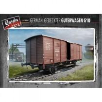 German Gedeckter Guterwagen G10 1/35