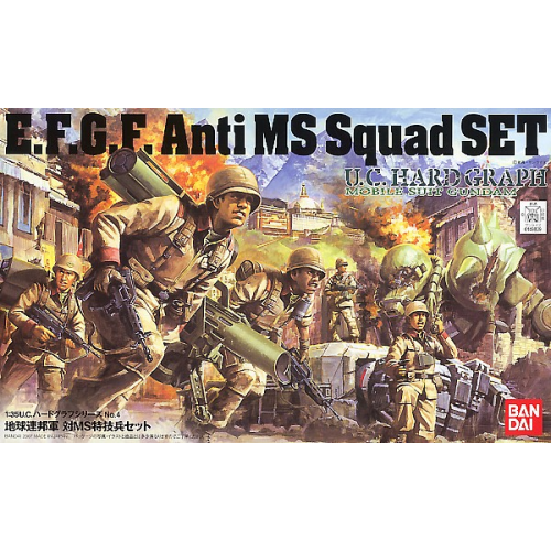 U.C. Hard Graph E.F.G.F. Anti MS Squad Set