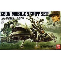 U.C. Hard Graph HG Zeon Mobile Scout Set 1/35