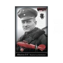 """Albatros D.V """"Manfred von Richthofen"""" (resin figure included) 1/32"""