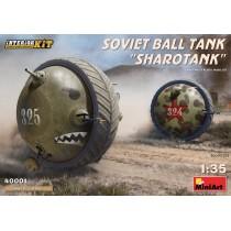 """Soviet Ball tank """"Sharotank"""" 1/35"""