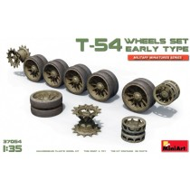 Soviet T-54 WHEELS SET. EARLY TYPE 1/35