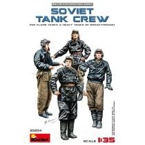 Soviet tank crew (WWII)(for Flame-thrower Tanks & Heavy Tanks of Breakthrough) 1/35