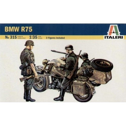 BMW R75 & Sidecar 1/35