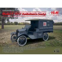 Model T 1917 Ambulance (early) WWI AAFS Car  1/35