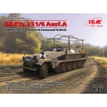 Sd.Kfz.251/6 Ausf.A WWII German Armoured Command Vehicle 1/35
