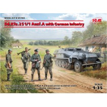 Sd.Kfz.251/1 Ausf.A with German Infantry   1/35