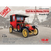 Taxi de la Marne (1914) French Car (100% new molds)   1/35