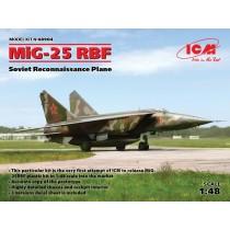 Mikoyan MiG-25RBF Soviet Reconnaissance Plane   1/48