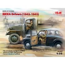 RKKA Drivers (1943-1945) (2 figures) (100% new molds) 1/35