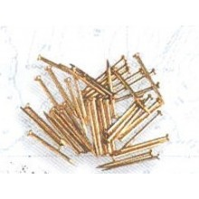 PUNTAS HIERRO LATONADO 10 mm (200 uds)